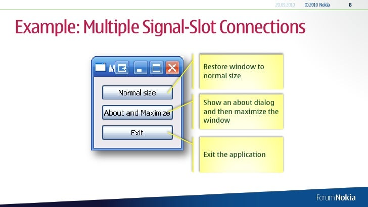 Qcheckbox signal slot example