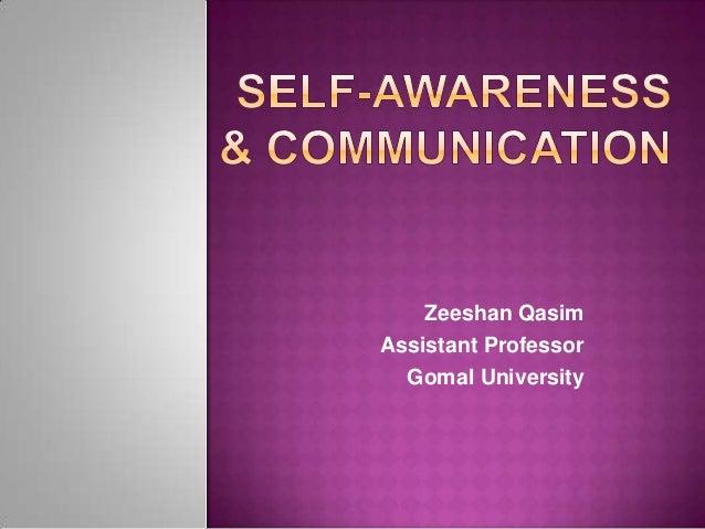 Zeeshan Qasim Assistant Professor Gomal University