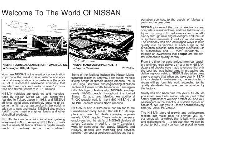 2002 sentra owner s manual rh slideshare net 2002 nissan sentra xe owners manual 2002 nissan sentra xe owners manual