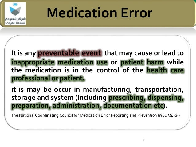 he relationship of medication errors and Medical errors: causes and solutions we all make mistakes, after all, to err is to be human the majority of these errors were medication related.