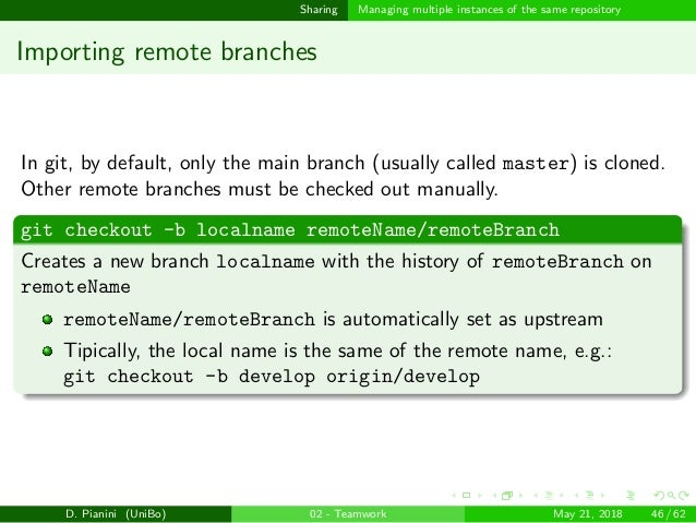 Productive parallel teamwork: Decentralized Version Control