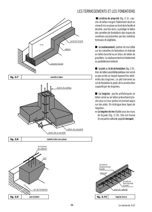 02 terrassements et fondations for Terrassement et fondation