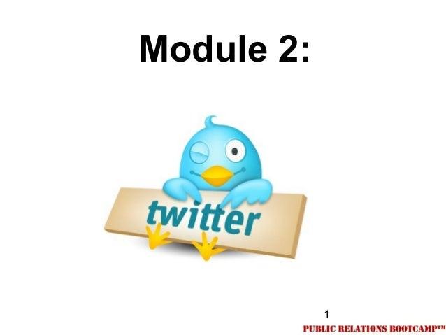 1Module 2: