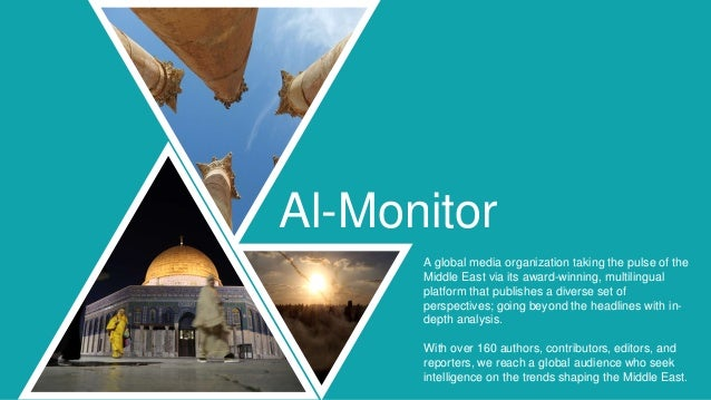 A global media organization taking the pulse of the Middle East via its award-winning, multilingual platform that publishe...