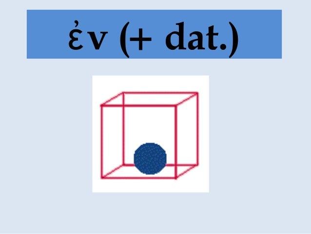 ν (ἐ + dat.)
