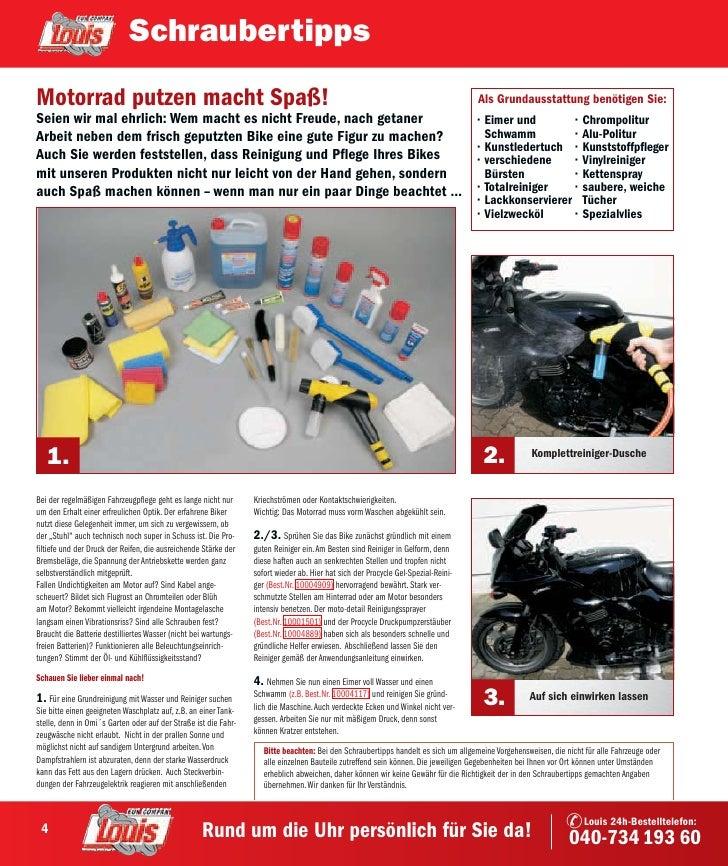 Schraubertipps Motorrad putzen macht Spaß!                                                                                ...