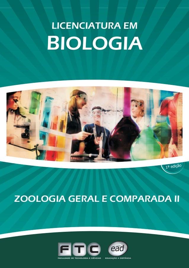 ZOOLOGIA GERAL E COMPARADA II