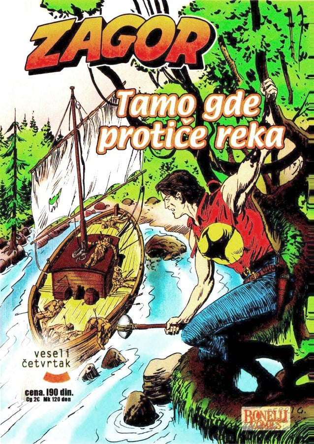 020. ZAGOR - TAMO GDE PROTIČE REKA