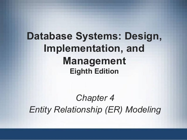 Database Systems Design Implementation And Management Th Edition Solutions Pdf