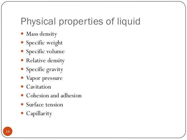 020118 physical properties of liquid