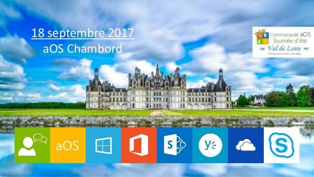 18 septembre 2017 aOS Chambord