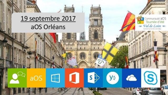 0 2017 09-18 à 20 Présentation aOS Vallée de la Loire Slide 2