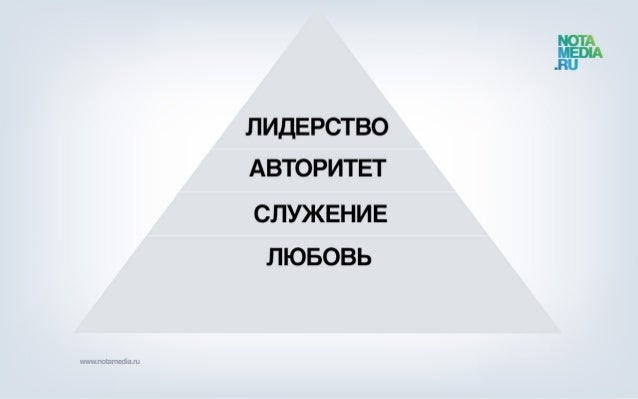 Истинная сущность лидерства