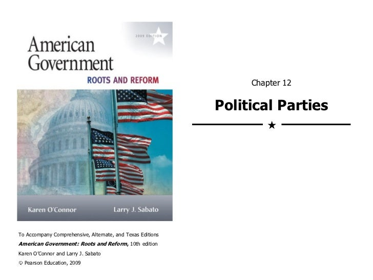 Chapter 12                                                            Political Parties                                   ...
