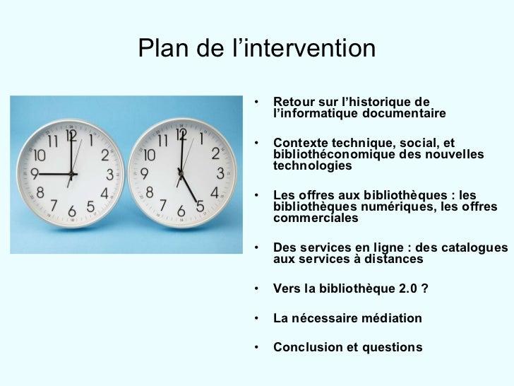 Plan de l'intervention <ul><li>Retour sur l'historique de l'informatique documentaire </li></ul><ul><li>Contexte technique...