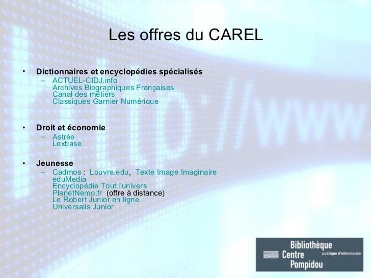 <ul><li>Dictionnaires et encyclopédies spécialisés </li></ul><ul><ul><li>ACTUEL-CIDJ.info   Archives Biographiques Françai...
