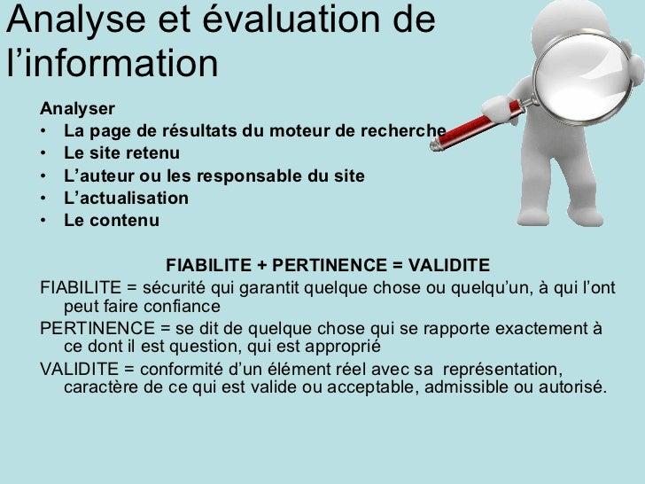 <ul><li>Analyser </li></ul><ul><li>La page de résultats du moteur de recherche </li></ul><ul><li>Le site retenu </li></ul>...
