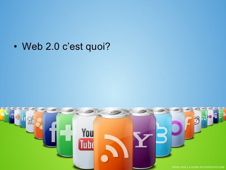<ul><li>Web 2.0 c'est quoi? </li></ul>