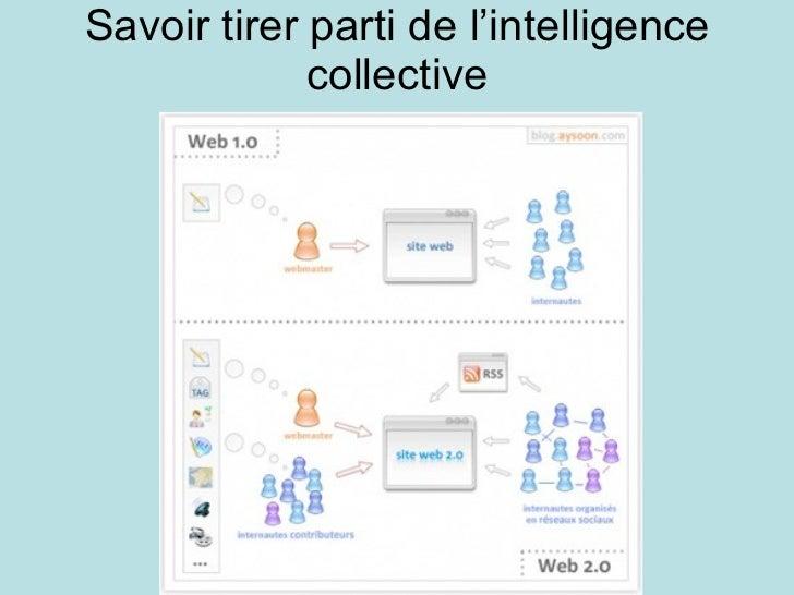 Savoir tirer parti de l'intelligence collective