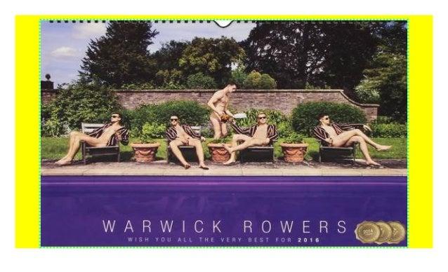 Libro Warwick Rowers Calendar 2018 di