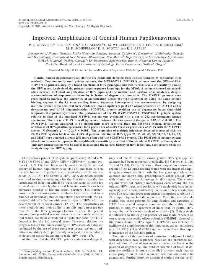 JOURNAL OF CLINICAL MICROBIOLOGY, Jan. 2000, p. 357–361                                                                   ...