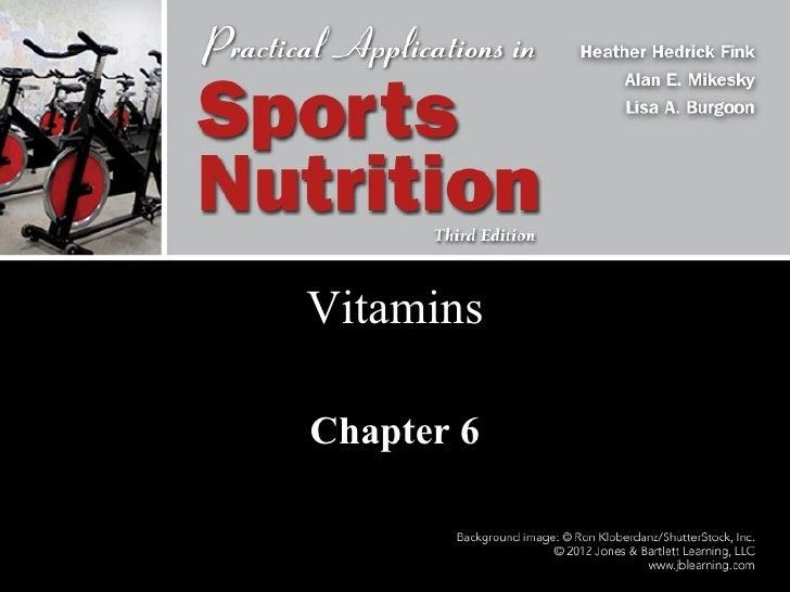 Vitamins Chapter 6