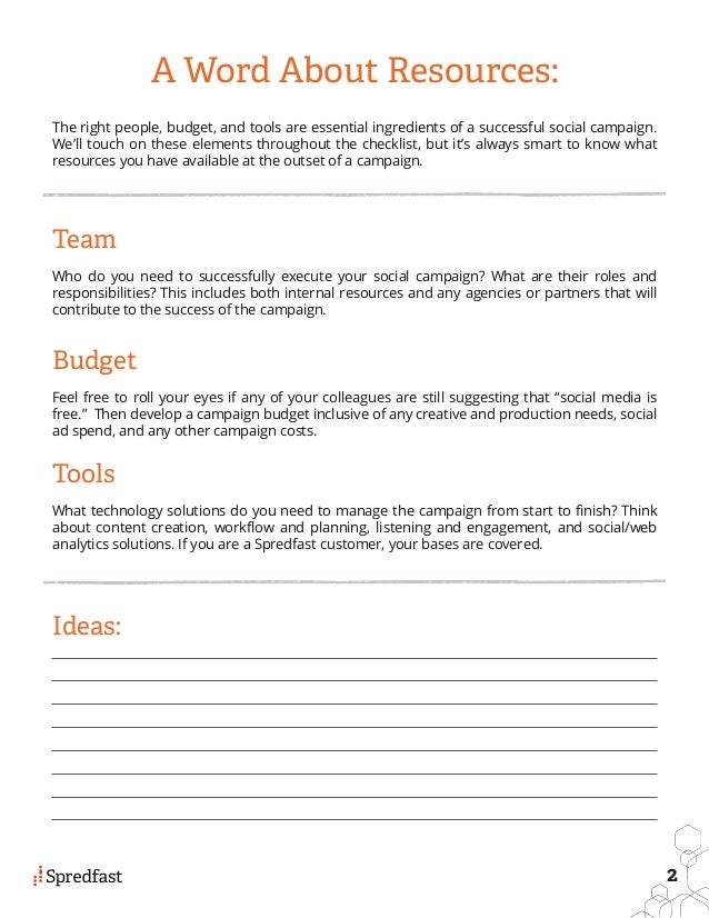 What Are 8 Steps To A Successful Social Campaign Plan And Checklist? #slideshow Slide 3