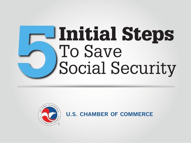 5 Initial Steps to Save Social Security