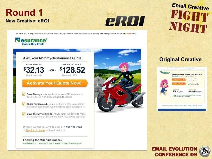 Round 1 New Creative: eROI Original Creative