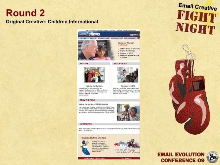Round 2 Original Creative: Children International