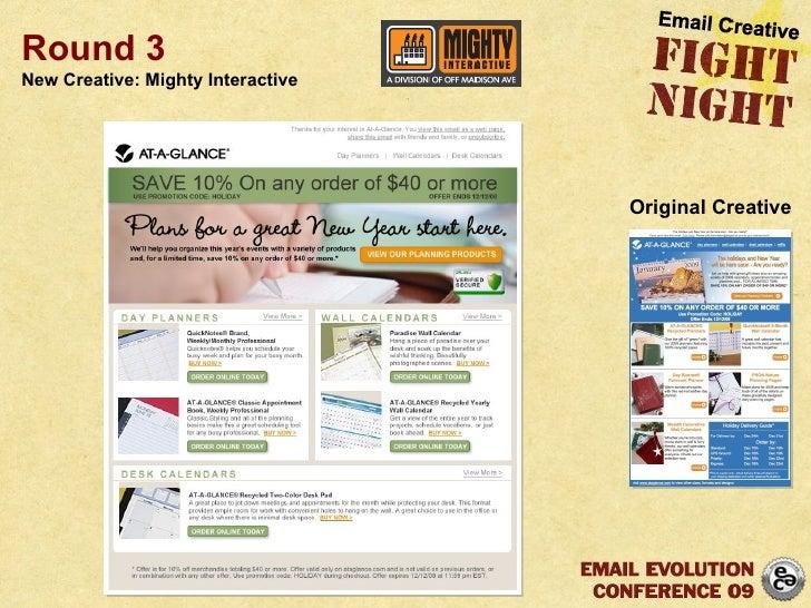 Round 3 New Creative: Mighty Interactive Original Creative