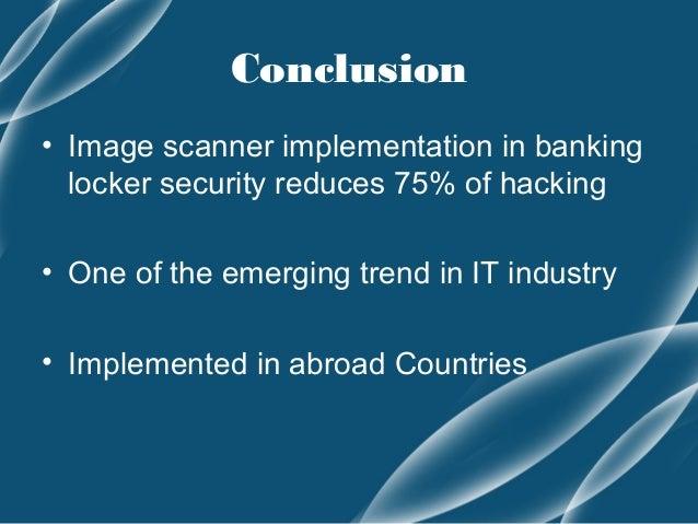 Banking Locker Security Using Image Processing