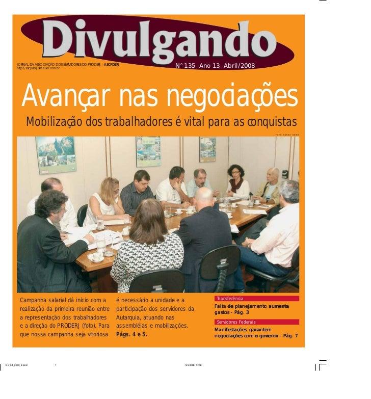 JORNAL DA ASSOCIAÇÃO DOS SERVIDORES DO PRODERJ – ASCPDERJ http://ascpderj.sites.uol.com.br                                ...