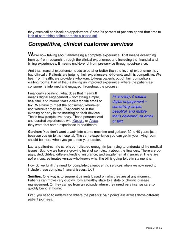 Healthcare Providers Take Cues from Consumer Expectations to Improve Patient Experiences  Slide 3