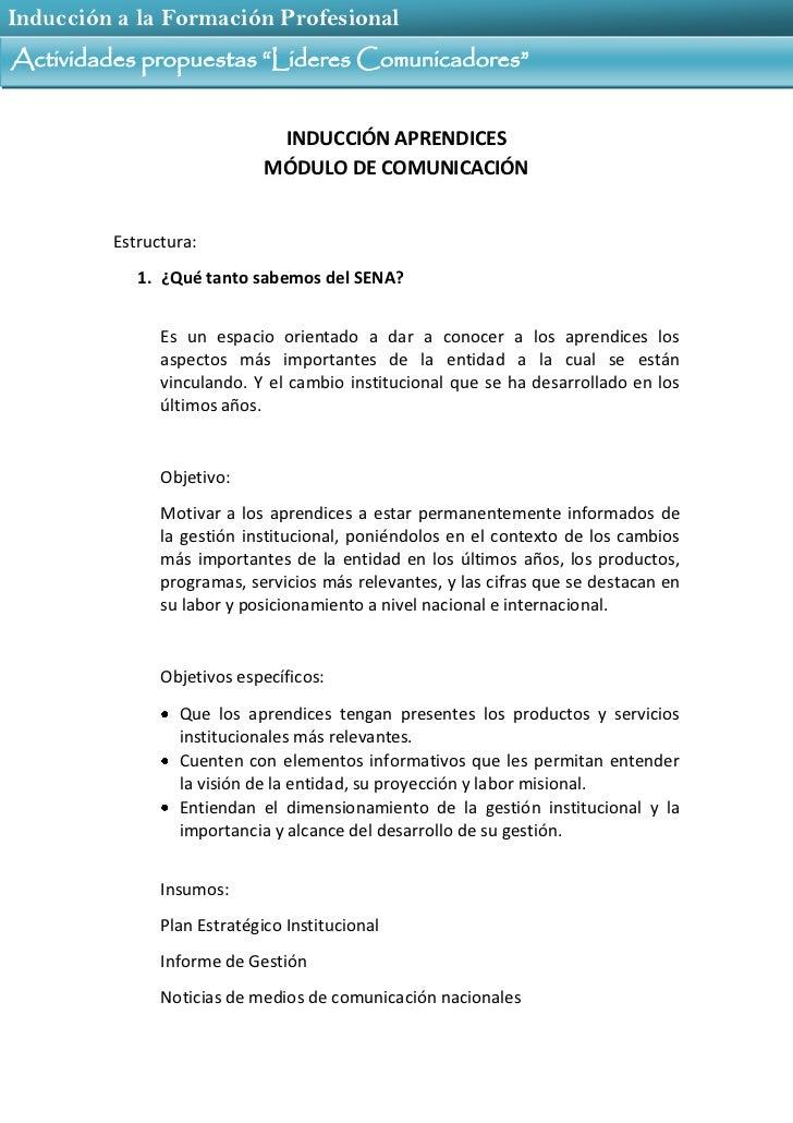 02 1 actividades propuestas lideres comunicadores Slide 2
