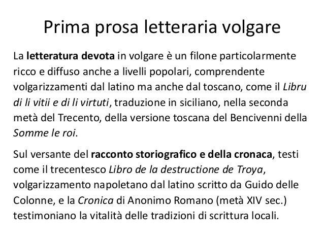 Matrimonio Romano Versione Latino : Letteratura delle origini
