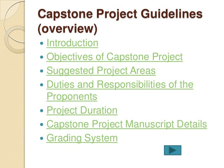 capstone project ched
