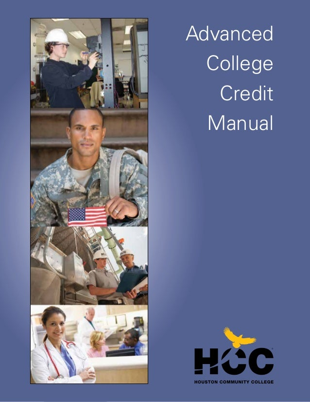 Advanced College Credit Manual