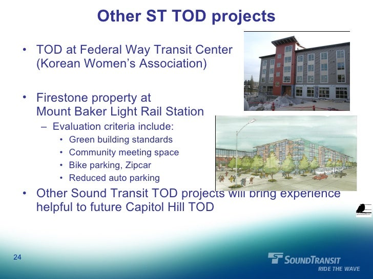 Capitol Hill Light Rail TOD Forum 2/23/10