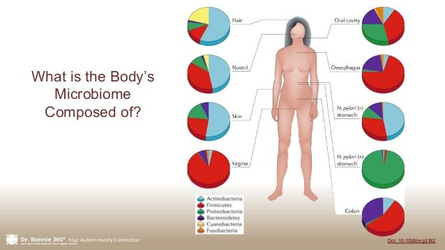 Your Autoimmunity Connection What is the Body's Microbiome Composed of? Doi: 10.1038/nrg3182