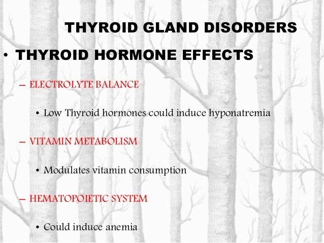 THYROID GLAND DISORDERS • THYROID HORMONE EFFECTS – CARDIOVASCULAR SYSTEM • Hyperthyroidism, increases: – Heart rate & myo...