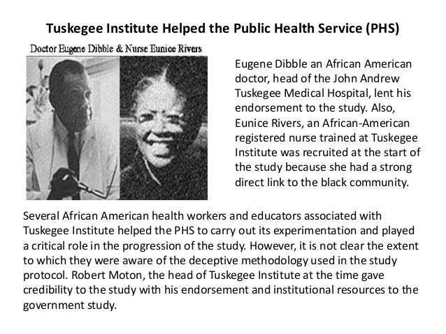Racism and Research: The Case of the Tuskegee Syphilis Study