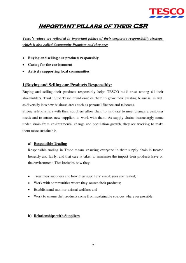 tesco report Question: analyse and evaluate the operations management of tesco (you have to research appropriate information about this organization) – you can base on the following two questions: 1) an analysis of type of operations carried out and operating processes, eg project batch, mass, professional service, service shop, and mass service.