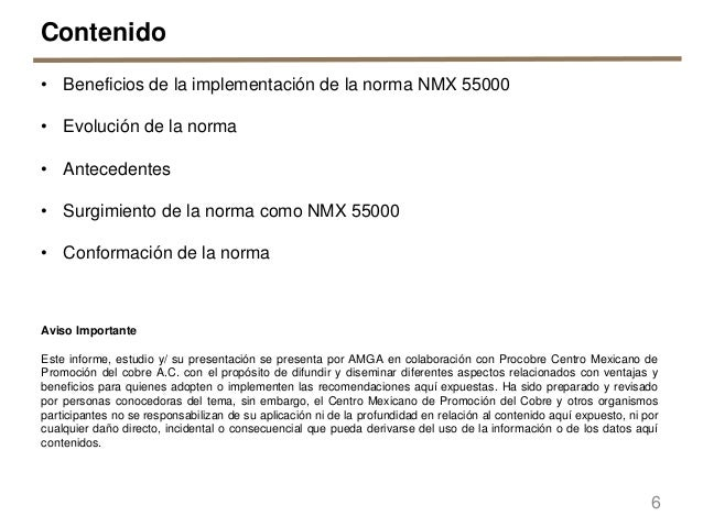 Presentaci n de paquete de normas nmx 55000 gesti n de for Oficina gestion ica