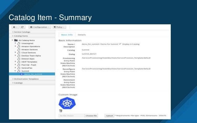 service dialog summary 6