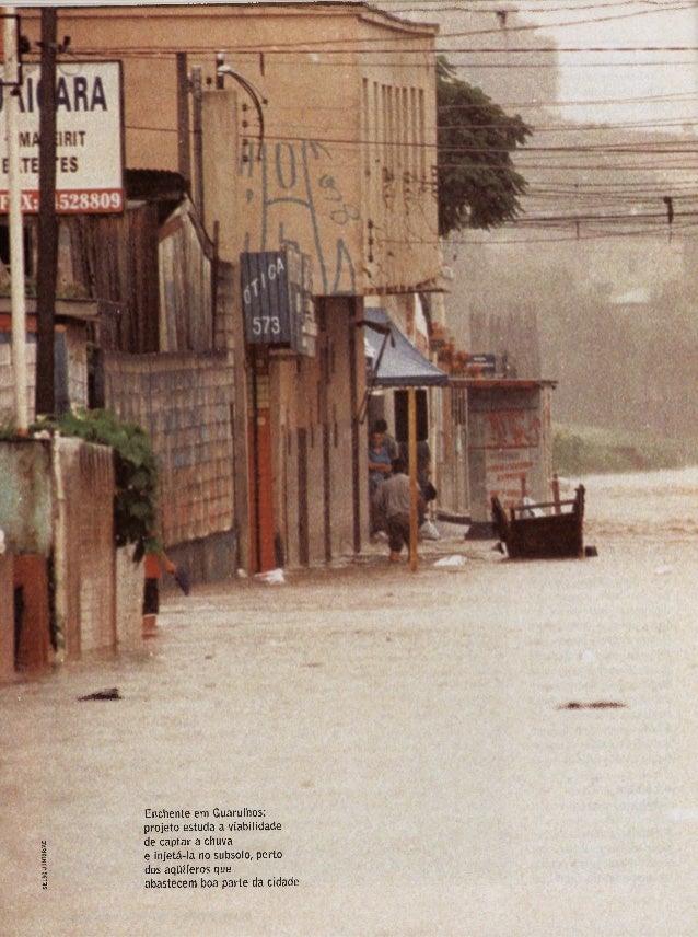 I —^—— MI|MiÍfl IW<HW^.!lW'l W| *.W!»»'W'| W- Enchente em Guarulhos: projeto estuda a viabilidade de captar a chuva e inje...