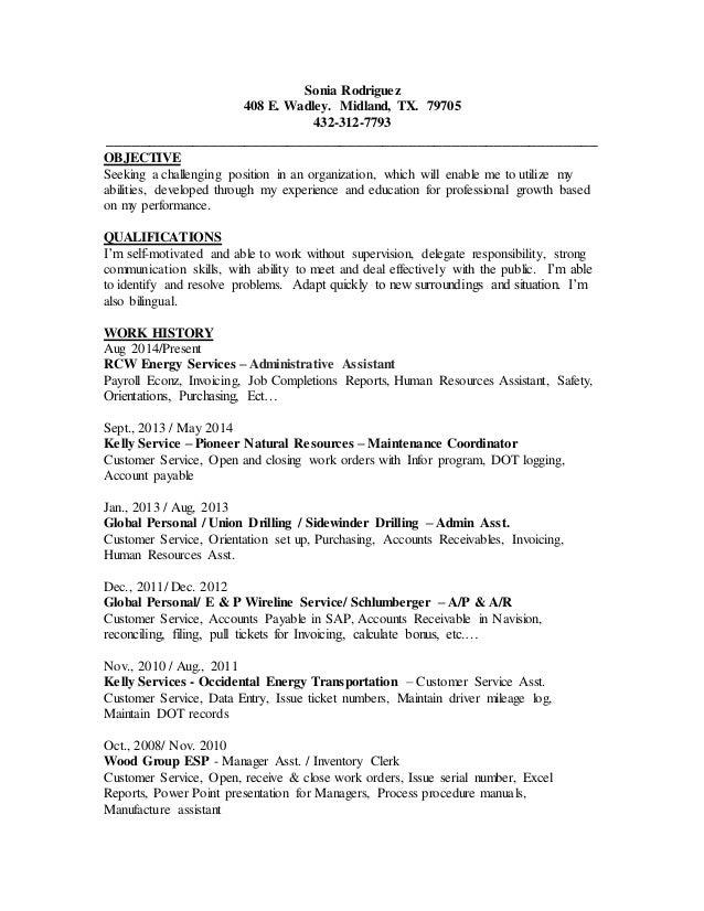 Modern Ep Energy Resume Crest - Administrative Officer Cover Letter ...