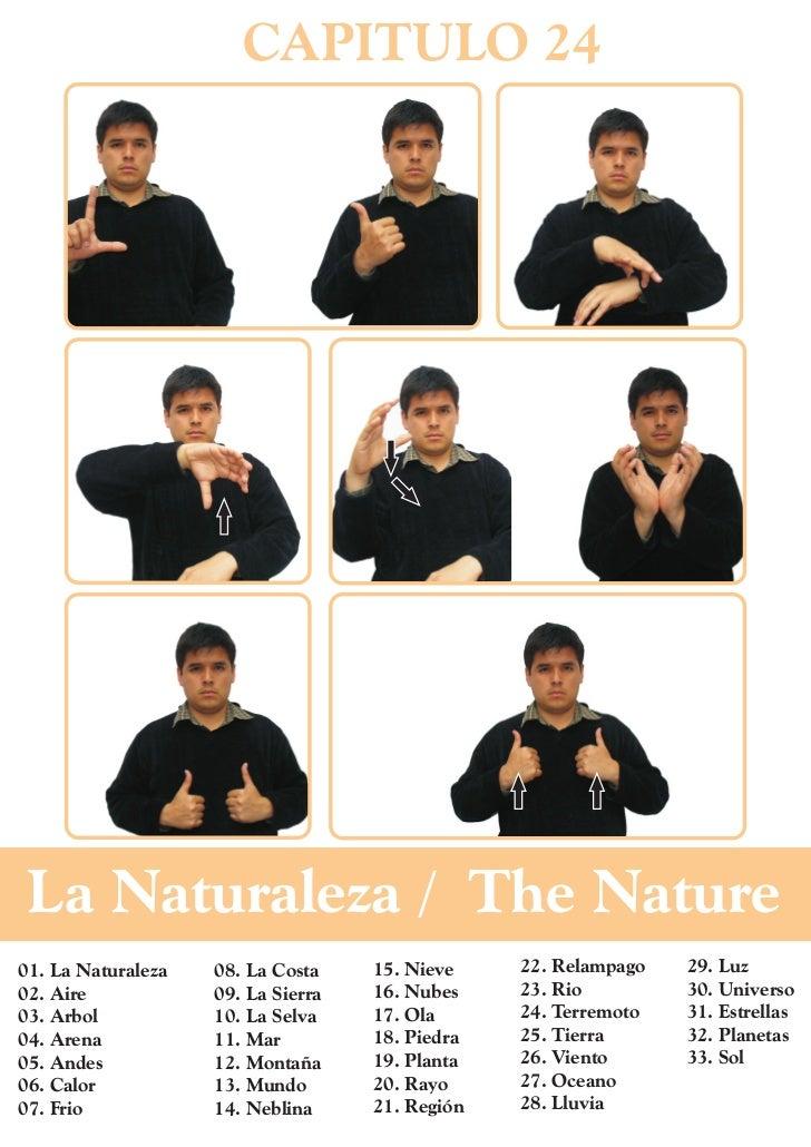 CAPITULO 24 La Naturaleza / The Nature01. La Naturaleza   08. La Costa    15. Nieve    22. Relampago   29. Luz02. Aire    ...