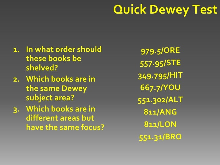Dewey decimal 420 dating