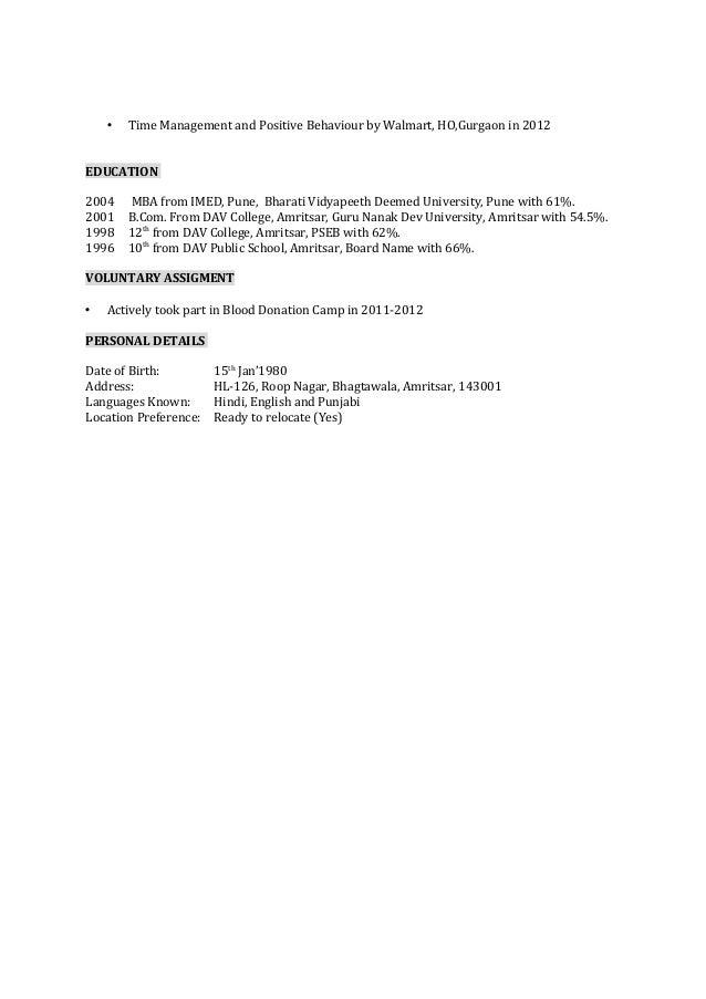 nidhish shahi myntra resume